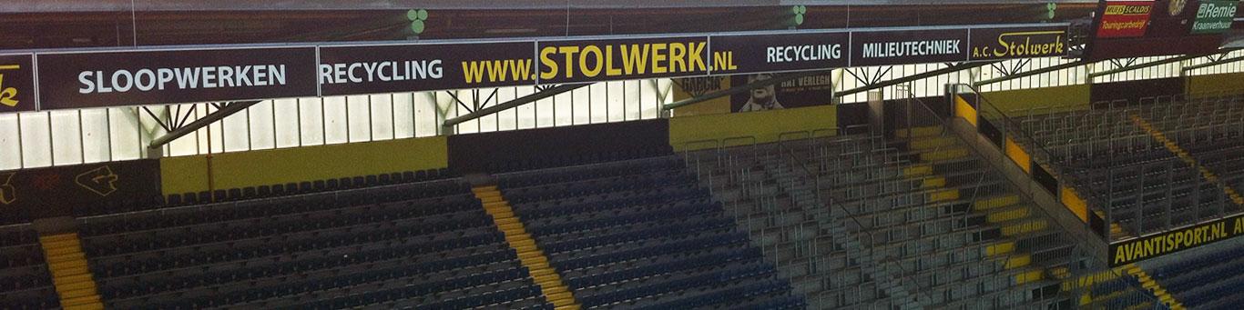 Stadionreclame NAC