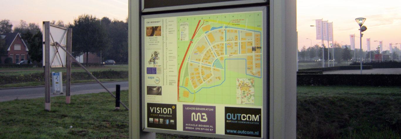 Stadsplattegronden Breda